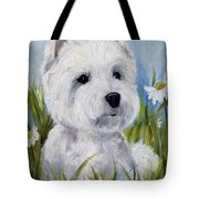 In The Daisies Tote Bag