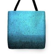 In The Dark Blue Rain Tote Bag