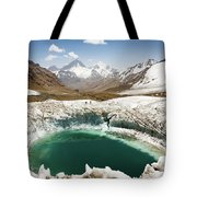 In The Depth Of Pamir Tote Bag