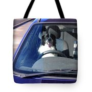 In The Driving Seat Tote Bag