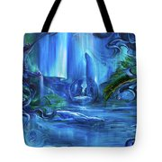 In The Eyes Of Aurora Tote Bag