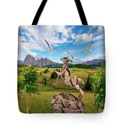 In The Field 25 Tote Bag