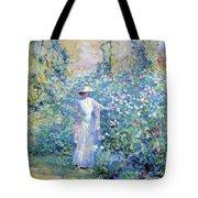 In The Flower Garden 1900 Tote Bag
