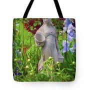 In The Flower Garden Tote Bag