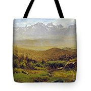 In The Foothills Of The Rockies Tote Bag