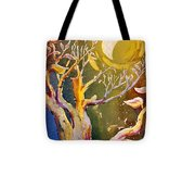 In The Forest Of The Night Tote Bag