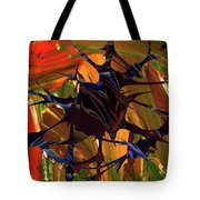 In The Forward Mind Abstract Tote Bag