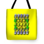 In The Fractured Gardens Tote Bag