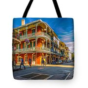 In The French Quarter - 2 Paint Tote Bag