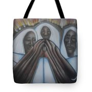In The Fury Fire Tote Bag