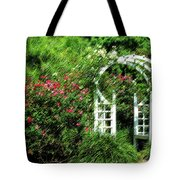 In The Garden Tote Bag by Carolyn Marshall
