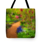 In The Gardens Tote Bag