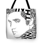 In The Ghetto Elvis Wordart Tote Bag
