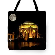 In The Glow Of The Supermoon Tote Bag