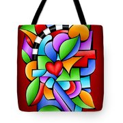 In The Groove Tote Bag