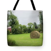 In The Hayfield  Tote Bag