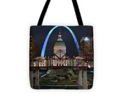 In The Heart Of St Louis Tote Bag