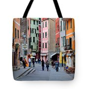 In The Heart Of Town Tote Bag