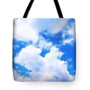 In The Heavens Above Tote Bag