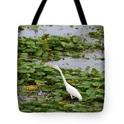 In The Lily Pads Tote Bag