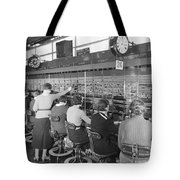 In The Long Distance Exchange Tote Bag
