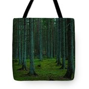 In The Middle Of The Forest Tote Bag