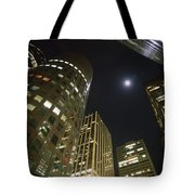 In The Midst Of The City Tote Bag