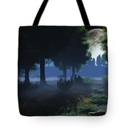 In The Moon Light  Tote Bag