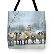 In The Morning Mist Tote Bag