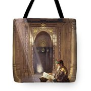 In The Mosque Tote Bag