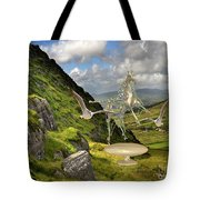 In The Mountains 22 Tote Bag