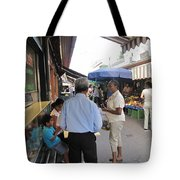 In The Naschmarkt Vienna Tote Bag