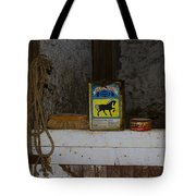In The Old Horse Barn Tote Bag