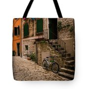 In The Old Town Tote Bag