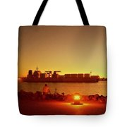 In The Pier Tote Bag