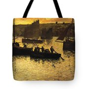 In The Port Tote Bag by Charles Cottet