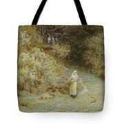 In The Primrose Wood Tote Bag