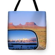 In The Rear View Mirror 2 Tote Bag