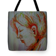 In The Room Of Peace Tote Bag