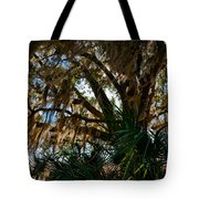 In The Shade Of A Florida Oak Tote Bag