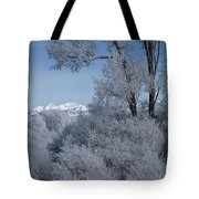 In The Shadows Of The Fog Tote Bag