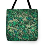 In The Stillness Of The Pond Tote Bag