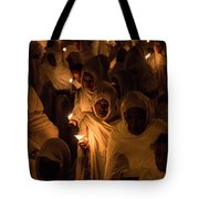 In The Streets Of Aksum Tote Bag