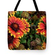 In The Summer Garden Tote Bag