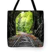 In The Tunnel Tote Bag