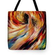 In The Vortex Of Passion Tote Bag