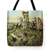 In The Wake Of The Hunters Tote Bag