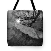 In The Water Bw  Tote Bag