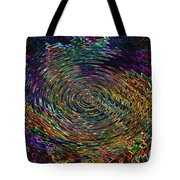 In The Whirl Of Light Tote Bag