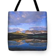 In The Wind River Range. Tote Bag